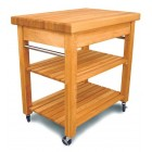 Compact French Country Work Centre Kitchen Trolley