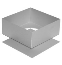 Silverwood Square Cake Pan with Loose Base