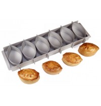 Silverwood Simple Simon Set of 6 Pie Moulds