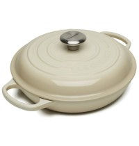 Le Creuset Cast Iron Buffet Casserole Cream