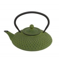 Bredemeijer Asian Teapot Cast Iron 1.25 Litre Green