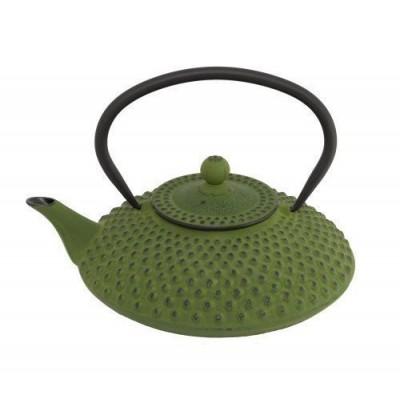 Bredemeijer Asian Teapot Cast Iron 1.25 Litre Green