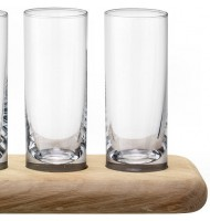 LSA Vodka Set & Oak Paddle