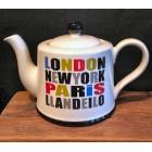 London, Paris, New York, Llandeilo Tea Pot