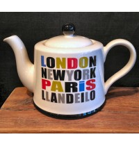 London, Paris, New York, Llandeilo Tea Pot