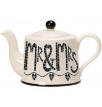 Mr & Mrs Teapot Moorland Pottery