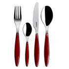 Guzzini Feeling Individual Cutlery Red