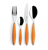 Guzzini Feeling Individual Cutlery Orange