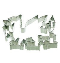 Welsh Dragon Shaped Cookie Cutter
