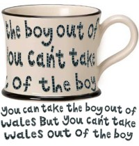 Boy out of Wales ENGLISH Mug
