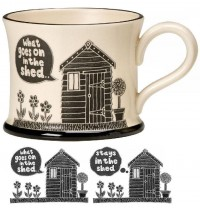 What Goes On In the Shed Mug