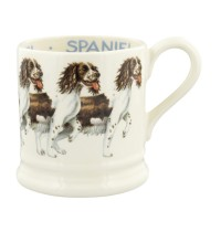 Emma Bridgewater Dogs Brown and Cream Spaniel 1/2 pint mug
