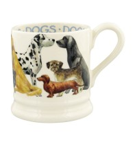 Emma Bridgewater Dogs, Dogs All Over 1/2 pint mug