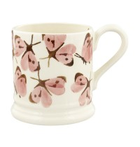 Emma Bridgewater Pink Cabbage White Butterfly 1/2 pint Mug
