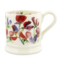 Emma Bridgewater Flowers Sweet Pea Multi 1/2 pint mug