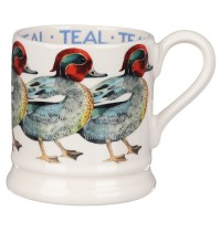 Emma Bridgewater Birds Teal 1/2 pint Mug