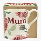 Emma Bridgewater Pink Roses Mum 1/2 Pint Mug