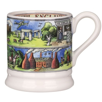 Emma Bridgewater Beautiful England 1/2 pint mug