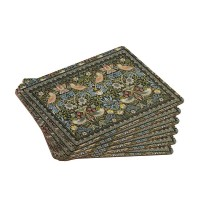 Strawberry Thief Tapestry Placemats set of 6