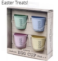 Egg Cup Buckets Pastel