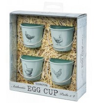 Egg Cup Buckets Vintage Hens