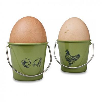 Eddingtons Rooster Sage Egg Cup Buckets