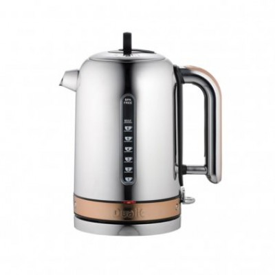 Dualit Classic Kettle - Polished Copper