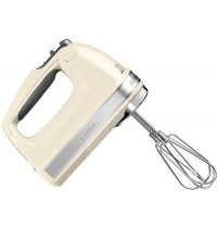 Kitchen Aid 9 Speed Hand Mixer Cream