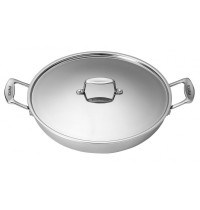 Scanpan Fusion 5 Chef Pan with Lid 32 cm
