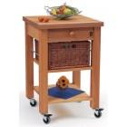 Lambourn Single Drawer Kitchen Trolley