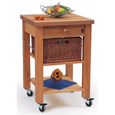 Lambourn Single Drawer Kitchen Trolley