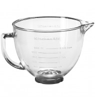 KitchenAid 4.8L Glass Bowl With Lid