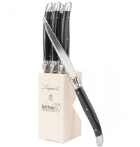 André Verdier Laguiole Steak Knife Block Set