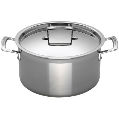 3-ply Stainless Steel Deep Casseroles