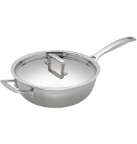 Le Creuset Chef's Pan with Lid 24cm 3.3L