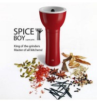 Spice Boy Spice Grinder Red