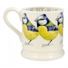 New Emma Bridgewater Blue Tit 0.5pt Mug