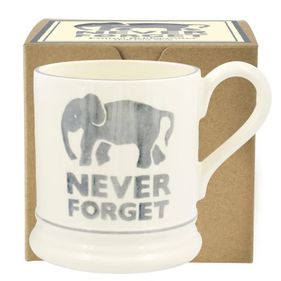 New Emma Bridgewater Never Forget 0.5pt Mug