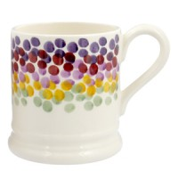 Emma Bridgewater Rainbow Dots 1/2 Pint Mug