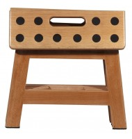 James Foldable Wooden Stool