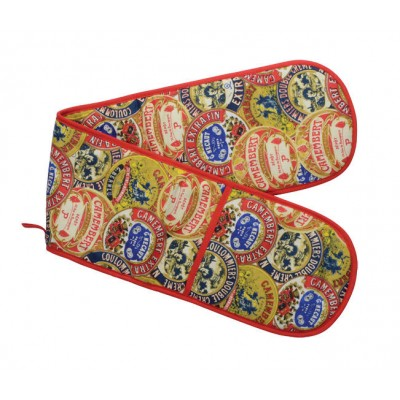 Camembert Cotten Double Oven Gloves