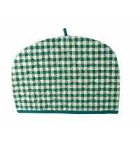 Sterck Green Checked Gingham Tea Cosy