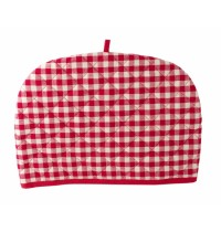 Sterck Red Checked Gingham Tea Cosy