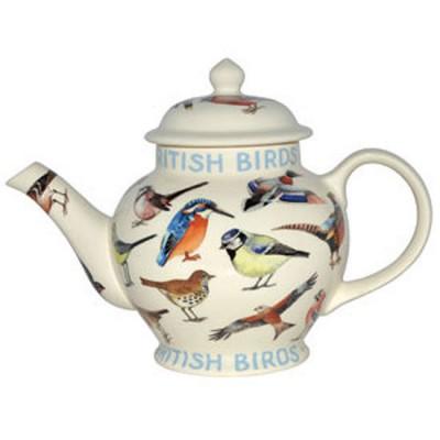 Emma Bridgewater British Birds 2 Cup Teapot