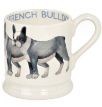 Emma Bridgewater French Bull Dog 1/2 Pint Mug 2016