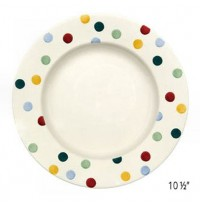 "Emma Bridgewater Polka Dot 6½"",  8 ½""  & 10 ½"" Plates"