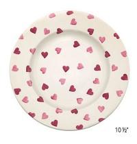 "Emma Bridgewater Hearts 6½"",  8 ½""  & 10 ½"" Plates"