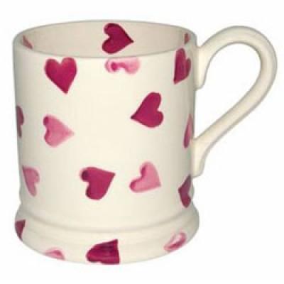 Emma Bridgewater Heart 1/2 Pint Mug