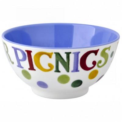 Emma Bridgewater Polka Dot Text Melamine Bowl