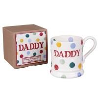 Emma Bridgewater Daddy Polka 1/2 Pint Mug